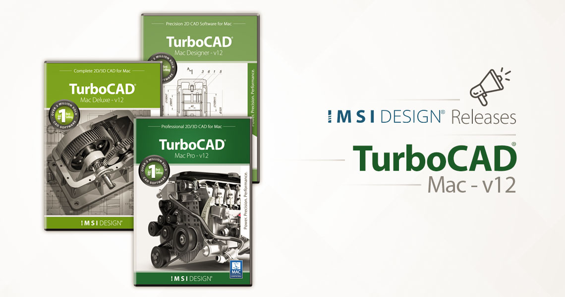 IMSI Design Announces TurboCAD® Mac v12