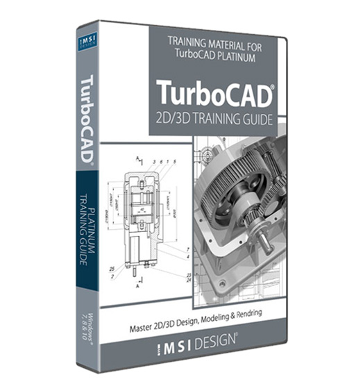 TurboCAD 2D/3D Platinum Training