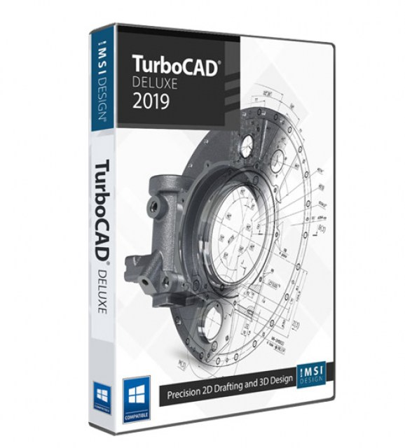 TurboCAD 2019 Deluxe Upgrade from TurboCAD 2019 Designer
